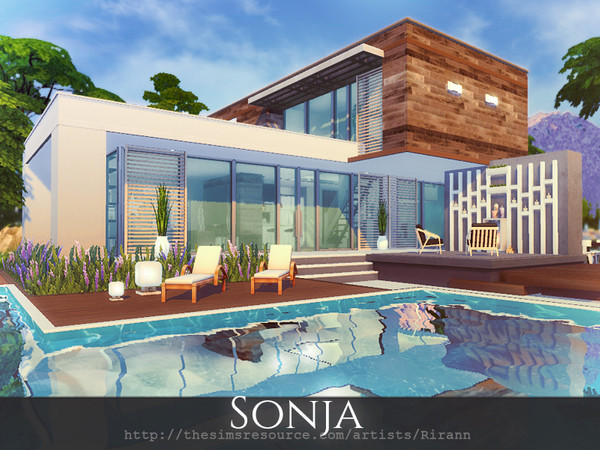 Sonja house by Rirann at TSR image 3823 Sims 4 Updates