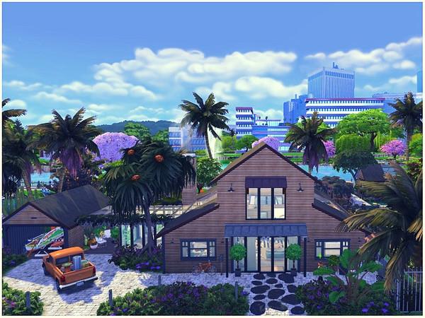 Modern Family Farm by lotsbymanal at TSR image 3824 Sims 4 Updates