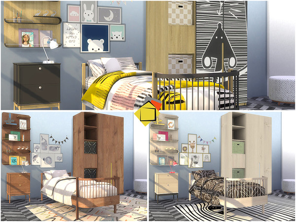 Delta Bedroom by Onyxium at TSR image 3827 Sims 4 Updates