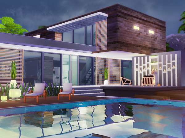 Sonja house by Rirann at TSR image 4024 Sims 4 Updates