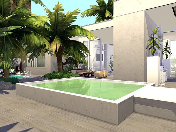 Sims 4 Island Villa by Sarina Sims at TSR