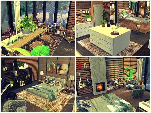 Modern Family Farm by lotsbymanal at TSR image 4128 Sims 4 Updates