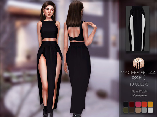 Clothes SET 44 SKIRT BD176 by busra tr at TSR image 4320 Sims 4 Updates