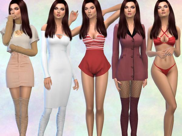 Sims 4 Barbara Lew by divaka45 at TSR