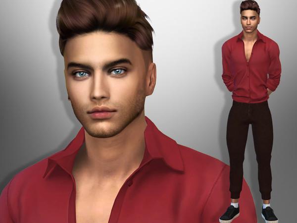 Sims 4 Lucas York by divaka45 at TSR