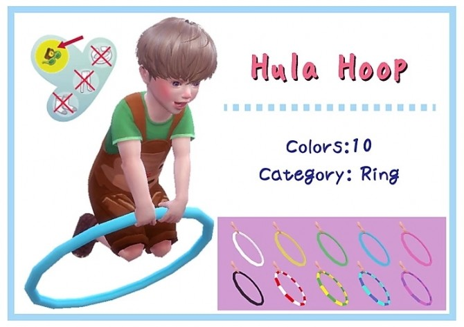 Hula Hoop acc. at A luckyday image 453 670x473 Sims 4 Updates
