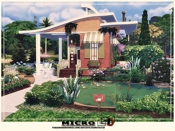 Micro house by Danuta720 at TSR image 4624 Sims 4 Updates