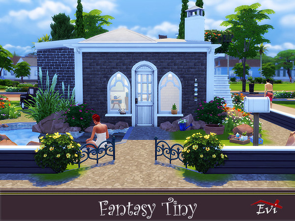 Fantasy Tiny house by evi at TSR image 4627 Sims 4 Updates