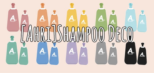 Sims 4 Shampoo Deco at Ahri Sim4