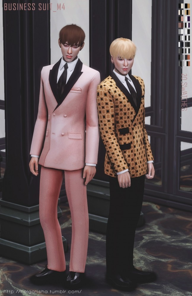Sims 4 Business suit at Helga Tisha
