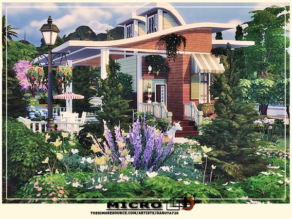 Micro house by Danuta720 at TSR image 4723 Sims 4 Updates
