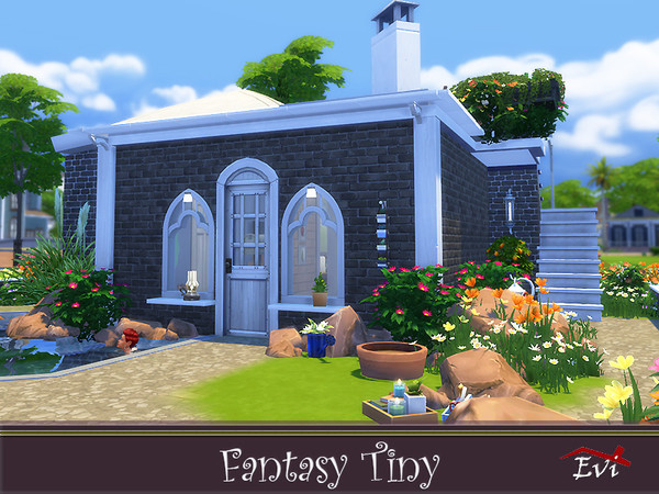 Fantasy Tiny house by evi at TSR image 4726 Sims 4 Updates