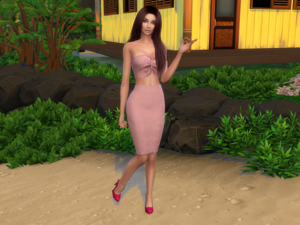 Sims 4 Marcella Swenson by divaka45 at TSR