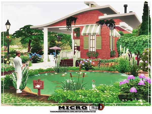 Micro house by Danuta720 at TSR image 4824 Sims 4 Updates