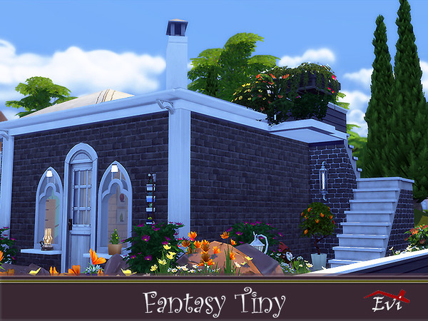 Fantasy Tiny house by evi at TSR image 4827 Sims 4 Updates