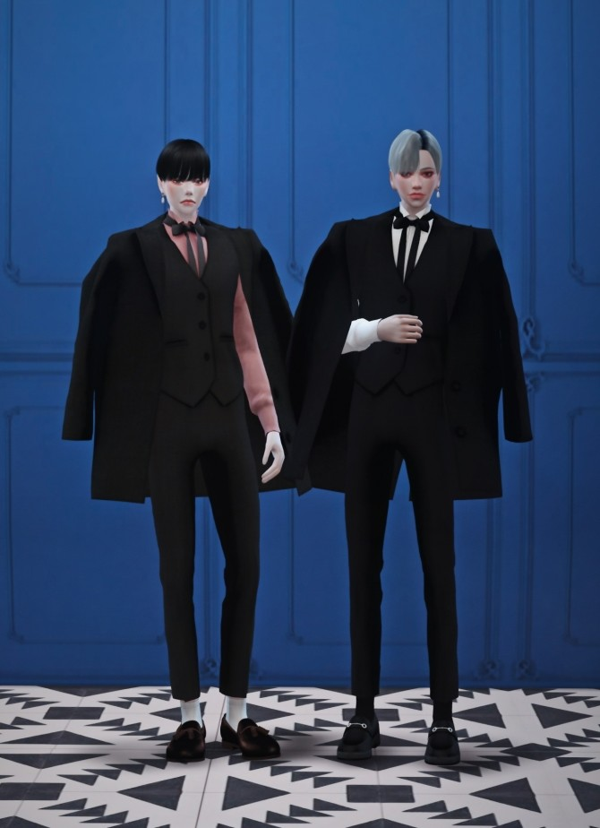 Male mage suit at Chaessi image 483 670x924 Sims 4 Updates