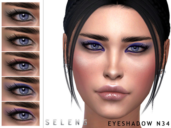 Eyeshadow N34 by Seleng at TSR image 4917 Sims 4 Updates