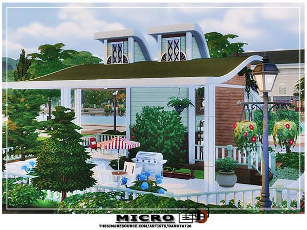 Sims 4 Micro house by Danuta720 at TSR