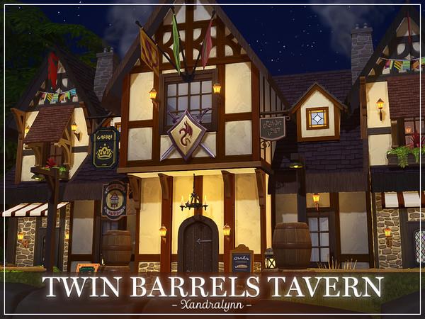 Twin Barrels Tavern by Xandralynn at TSR image 4928 Sims 4 Updates