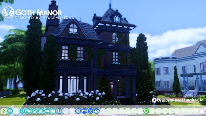 Goth Manor home makeover at Simsational Designs image 496 670x377 Sims 4 Updates