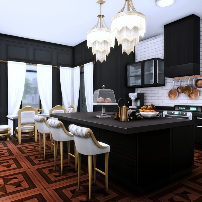 Goth Manor home makeover at Simsational Designs image 497 670x670 Sims 4 Updates