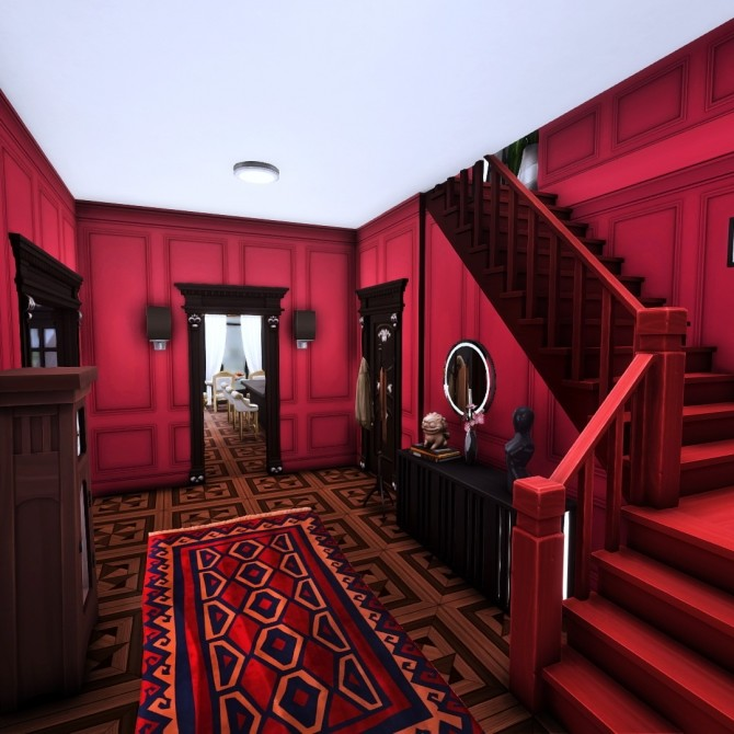 Goth Manor home makeover at Simsational Designs image 498 670x670 Sims 4 Updates