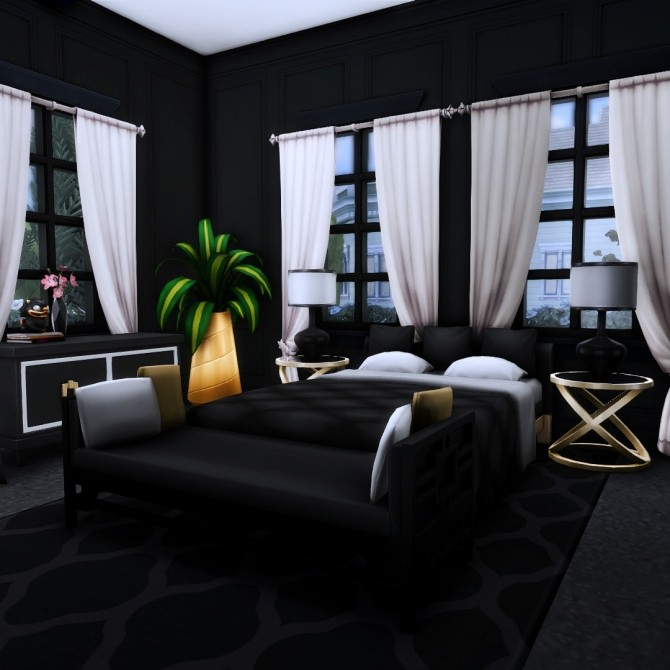 Goth Manor home makeover at Simsational Designs image 501 670x670 Sims 4 Updates