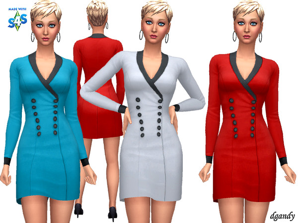 Sims 4 Dress 20200110 by dgandy at TSR