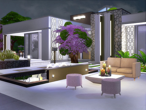 Anita modern home by Rirann at TSR image 5018 Sims 4 Updates