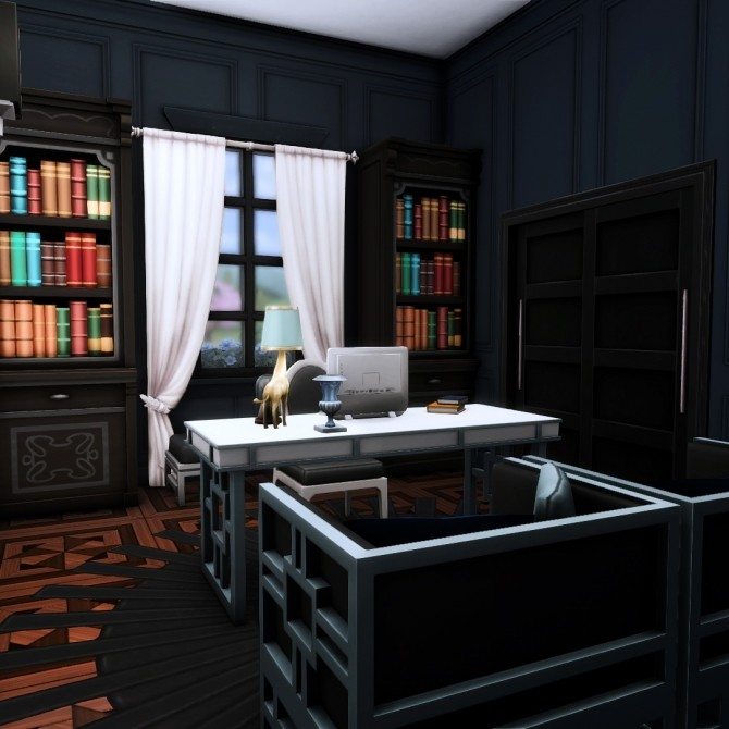 Goth Manor home makeover at Simsational Designs image 502 670x670 Sims 4 Updates