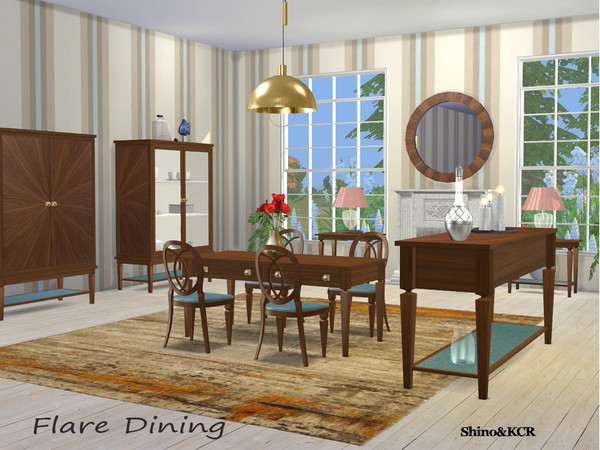 Sims 4 Dining Flare by ShinoKCR at TSR