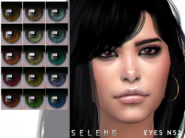 Eyes N52 by Seleng at TSR image 5115 Sims 4 Updates