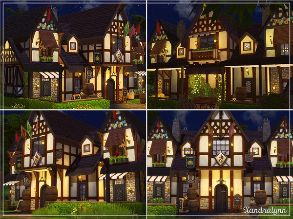Twin Barrels Tavern by Xandralynn at TSR image 5128 Sims 4 Updates