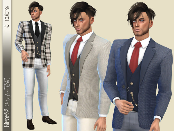 Sims 4 2020 Suit by Birba32 at TSR