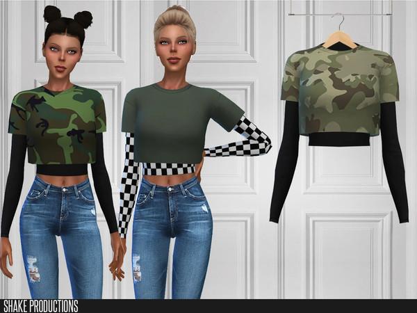 Sims 4 362 T Shirt by ShakeProductions at TSR