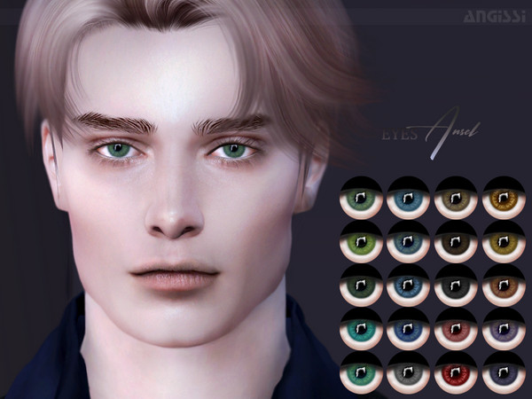 Sims 4 Ansel eyes by ANGISSI at TSR
