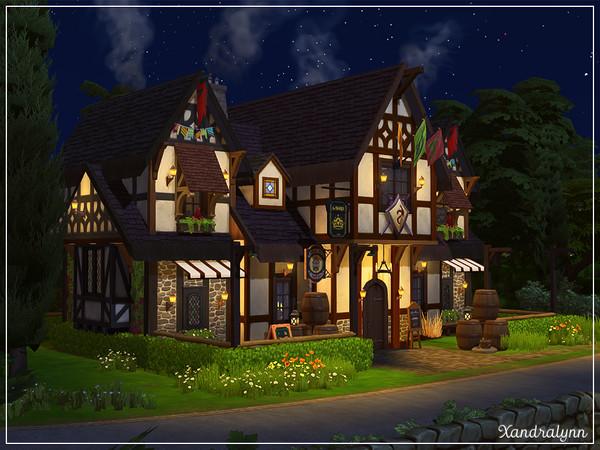 Twin Barrels Tavern by Xandralynn at TSR image 5228 Sims 4 Updates
