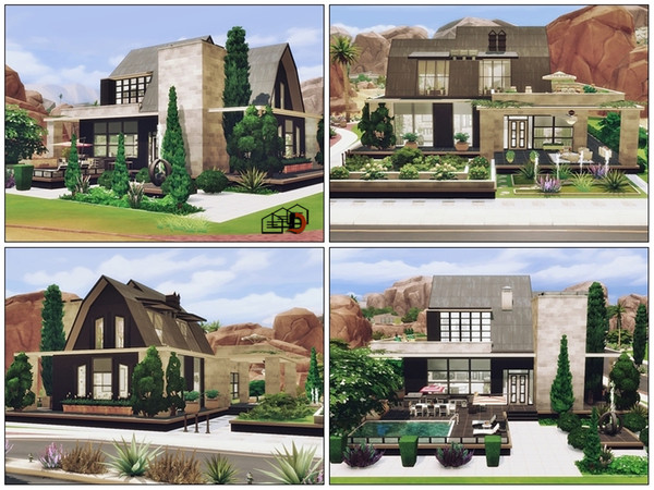 Oasis Modern loft by Danuta720 at TSR image 5315 Sims 4 Updates