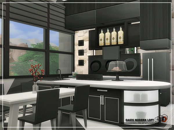 Oasis Modern loft by Danuta720 at TSR image 5411 Sims 4 Updates