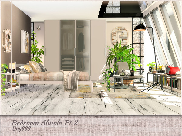 Bedroom Amola Part 2 by ung999 at TSR image 5414 Sims 4 Updates