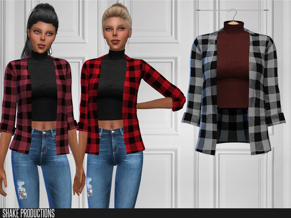 ShakeProductions 360 Top by ShakeProductions at TSR image 545 Sims 4 Updates