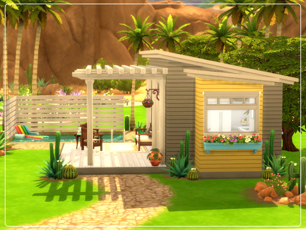 Sims 4 Tiny House by Summerr Plays at TSR