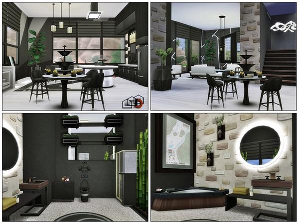 Sims 4 Oasis Modern loft by Danuta720 at TSR