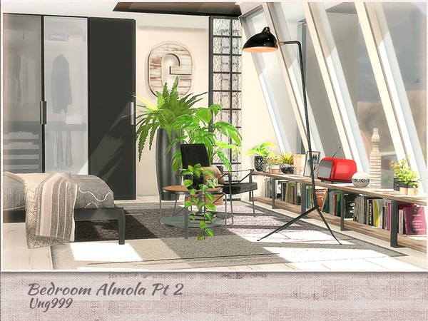 Bedroom Amola Part 2 by ung999 at TSR image 5513 Sims 4 Updates