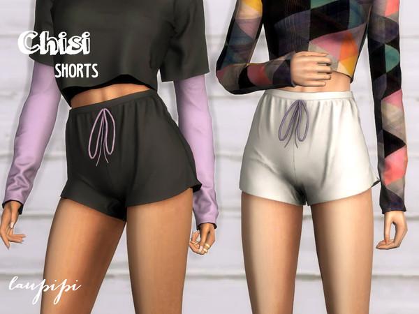 Sims 4 Chisi Shorts by laupipi at TSR