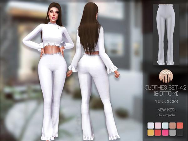 Sims 4 Clothes SET 42 pants BD172 by busra tr at TSR