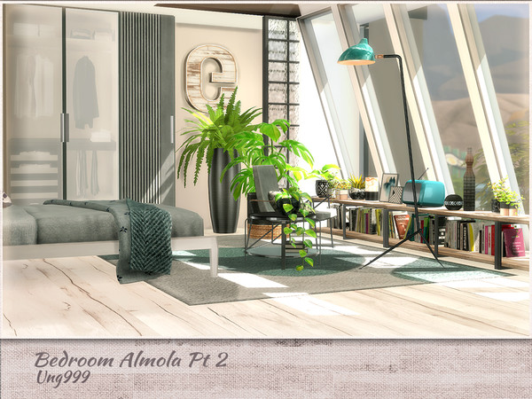 Bedroom Amola Part 2 by ung999 at TSR image 5612 Sims 4 Updates