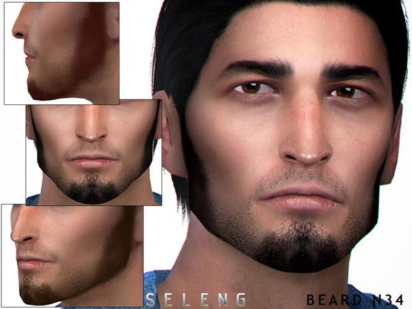 Sims 4 Beard N34 by Seleng at TSR