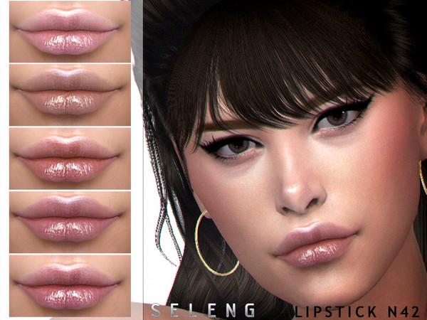 Sims 4 Lipstick N42 by Seleng at TSR