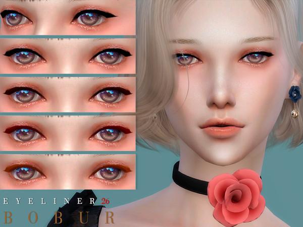 Eyeliner 26 by Bobur3 at TSR image 577 Sims 4 Updates